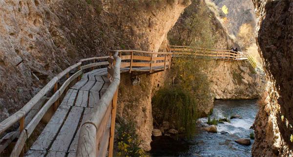 Casas Rurales en Granada - Sendero de la Cerrada de Castril
