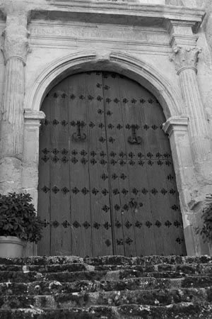 Iglesia de Castril - Puerta de la Lonja