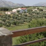 vistas desde casa rural en castril- el geco verde