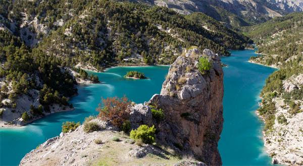 Parque Natural de la Sierra de Castril - Embalse del Portillo