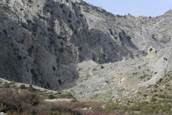 Ubicacion del Nacimiento del rio Castril