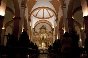 iglesia de Castril - el Altar
