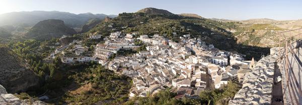 panoramica desde el castillo de Castril - casas rurales castril