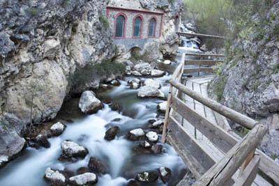 pasarela del rio Castril