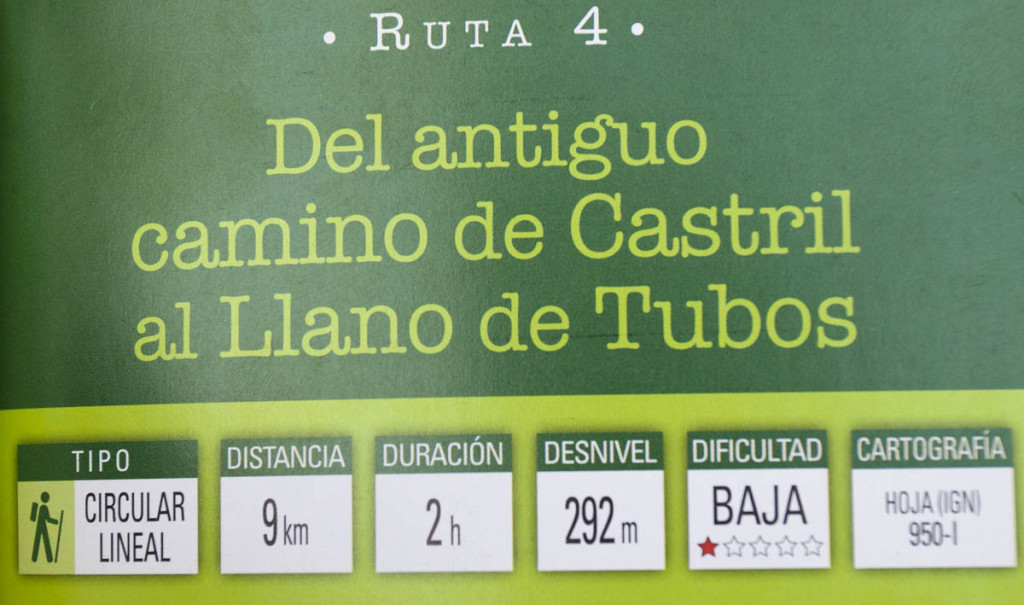 Casas Rurales Castril - El antiguo camino de Tubos