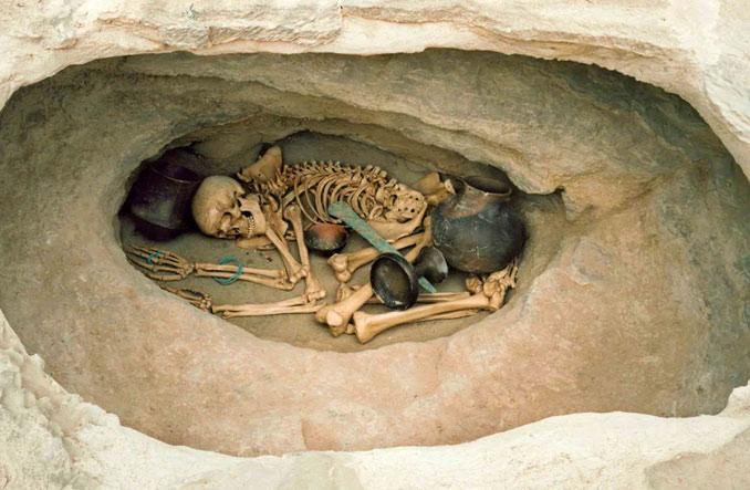 Enterramiento Argarico