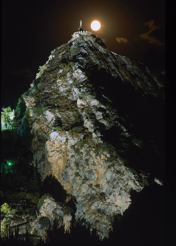 El Monumento Natural de la Peña de Castril